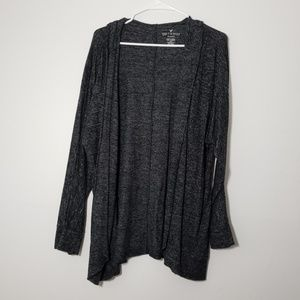 AEO Soft & Sexy Plush Hoodie Open Cardigan Sweater